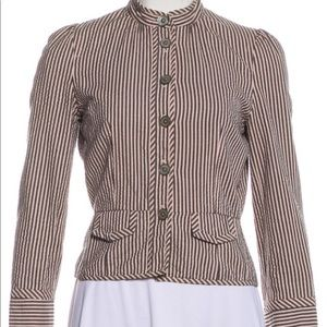 Marc Jacobs Jackets & Coats - Marc Jacobs striped casual jacket